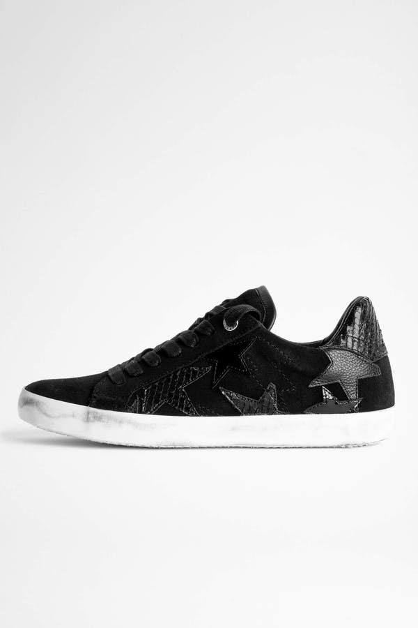 Zadig Used Flash Star Sneakers