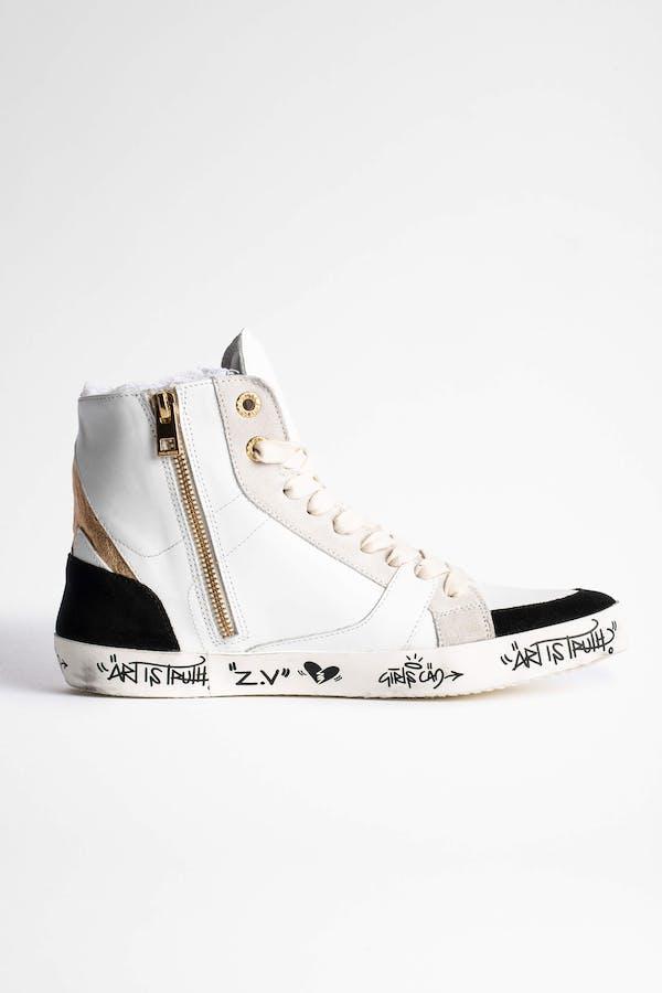 Zadig Used High Flash Jormi Sneakers