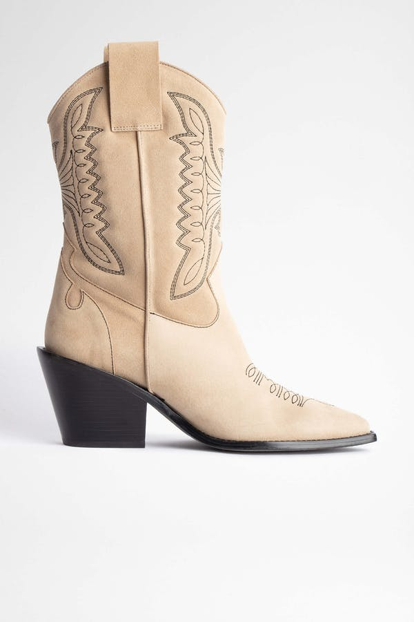 Rockland Suede Ankle Boots