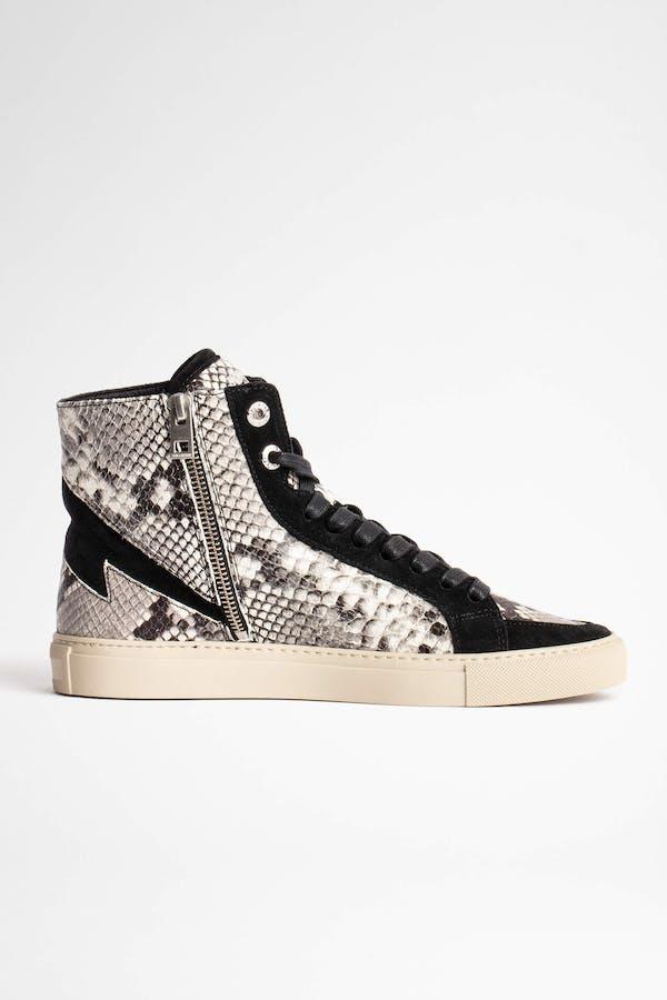 ZV1747 High Flash Wild Sneakers
