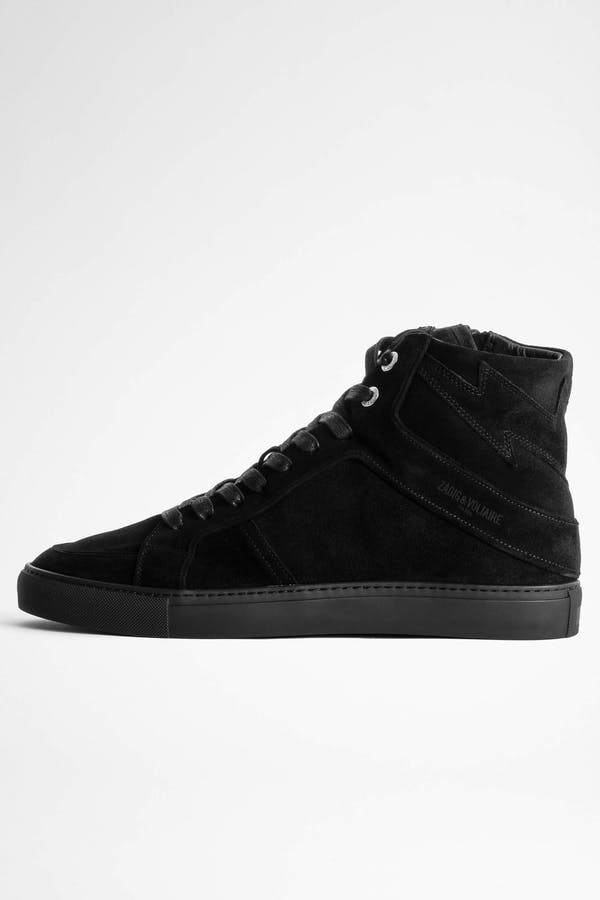 ZV1747 High Flash Suede Sneakers