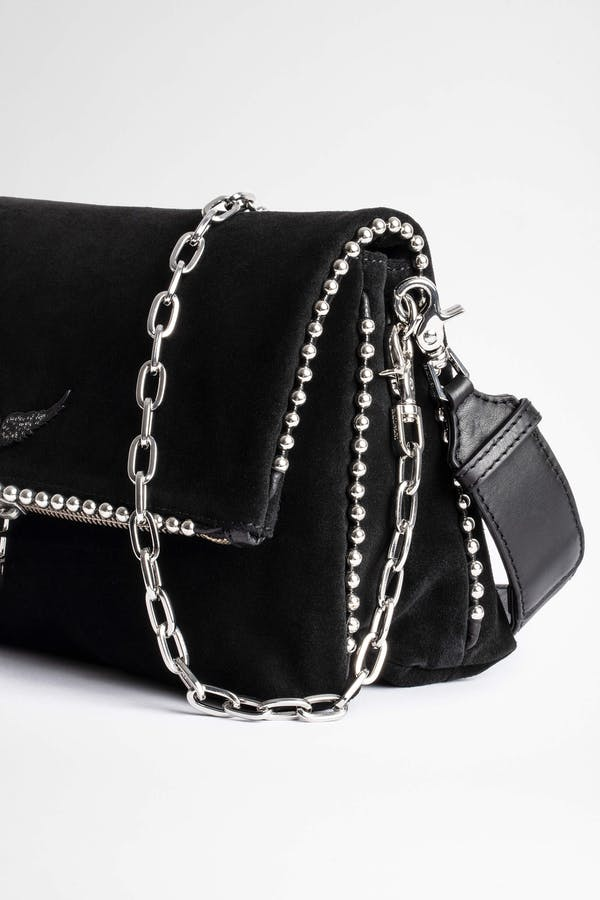 Rocky Suede Studs Bag