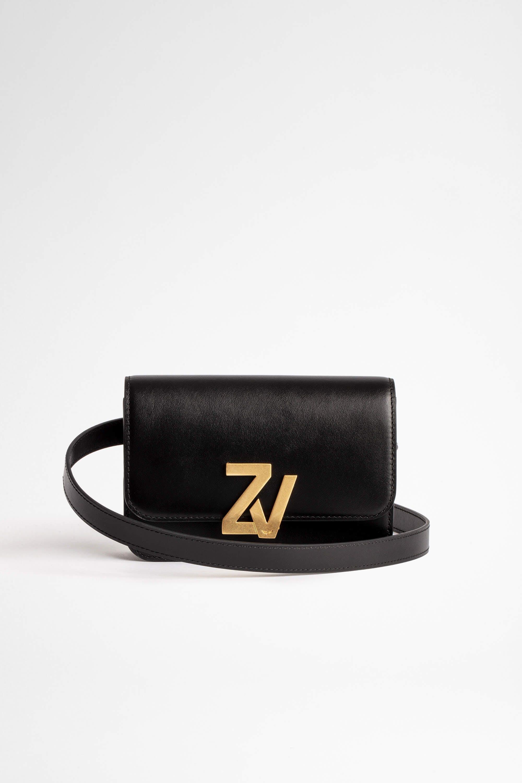 쟈딕 앤 볼테르 ZV 로고 벨트백 (오나라 착용) Zadig & Voltaire ZV Initiale Belt Bag,COGNAC
