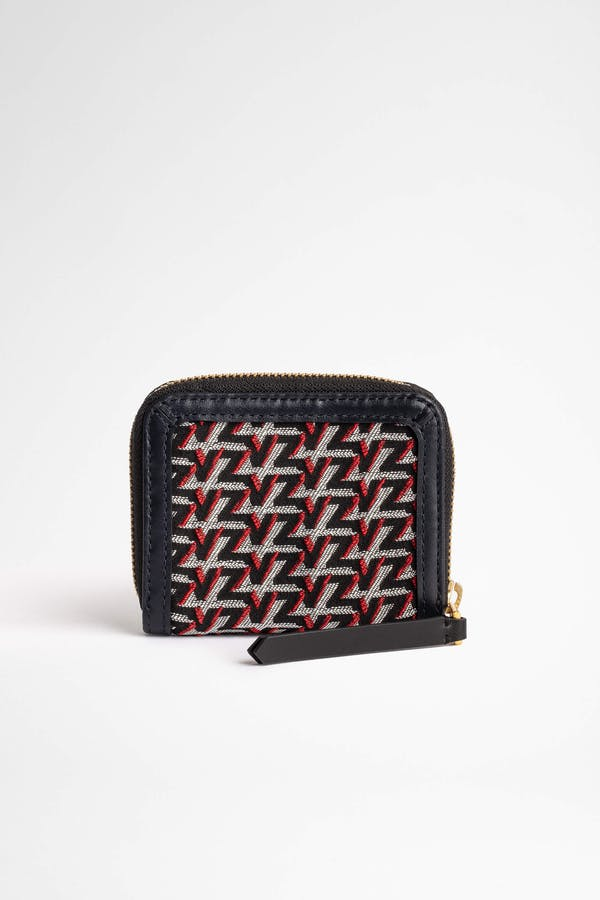 ZV Initiale Compact Monogram Coin Purse
