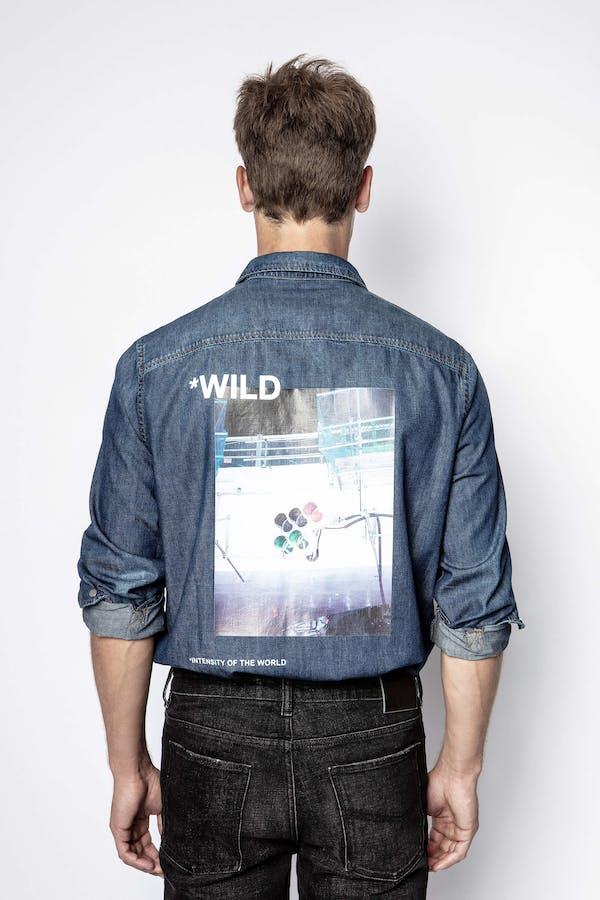 Stan Denim Photoprint Shirt