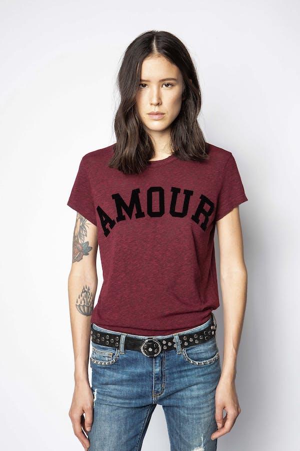 Walk Amour Overdyed T-shirt