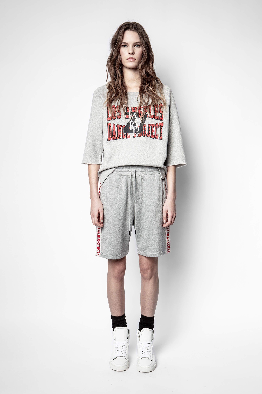 쟈딕앤볼테르 Zadig & Voltaire Lina Studs LADP Sweatshirt,GRAY