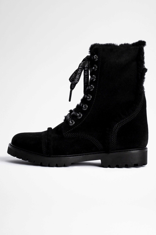쟈딕앤볼테르 Zadig & Voltaire Joe Ankle Boots,BLACK
