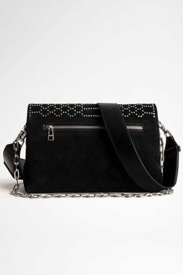 Rocky Suede Scale Studs Bag