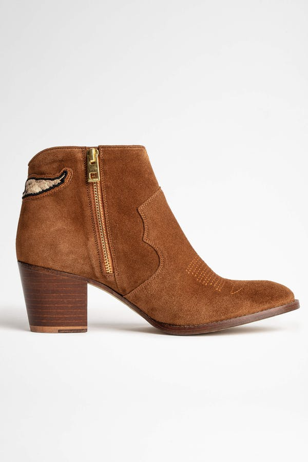 Molly Suede Wild Boot