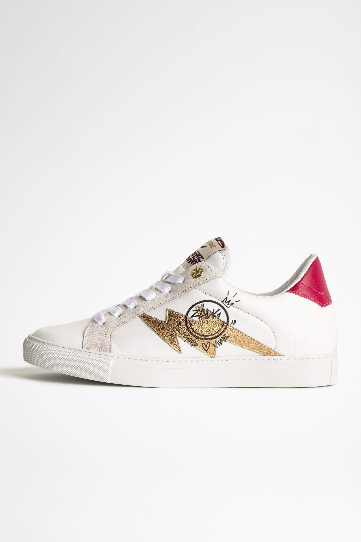 쟈딕앤볼테르 Zadig & Voltaire ZV1747 Sneakers,WHITE