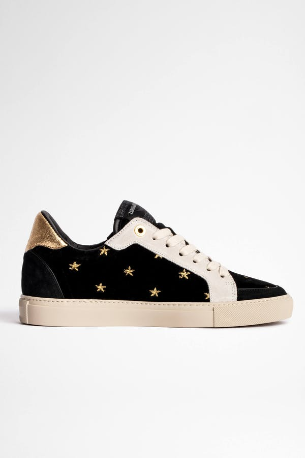 ZV1747 Board Velvet Sneakers
