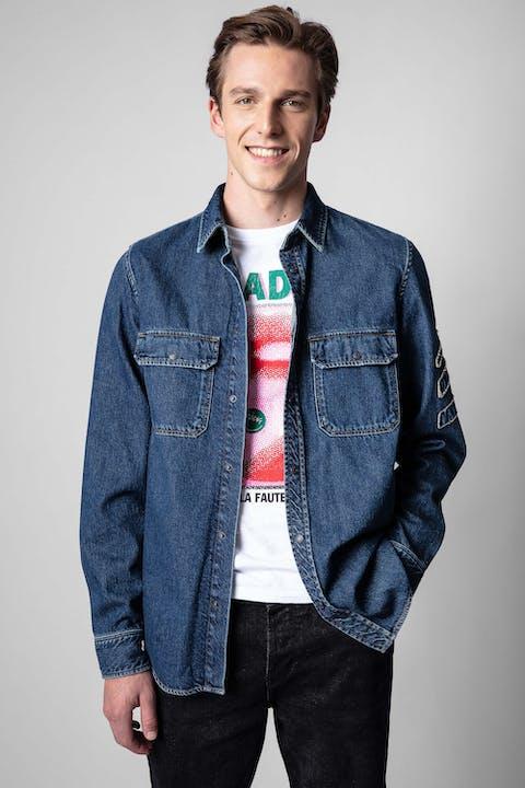 Stan Arrow Denim Shirt