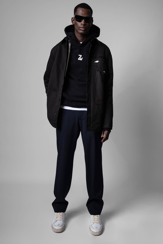 쟈딕앤볼테르 Zadig & Voltaire Troyh Jacket,BLACK
