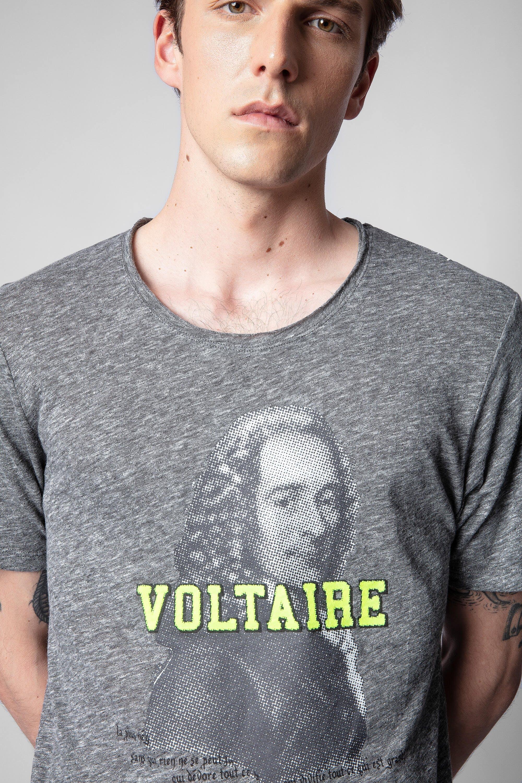 쟈딕앤볼테르 Zadig & Voltaire Toby T-shirt,MOTTLED GRAY