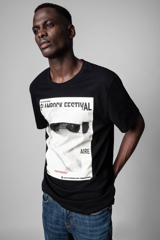 쟈딕앤볼테르 Zadig & Voltaire Photoprint Ted T-shirt,Latte