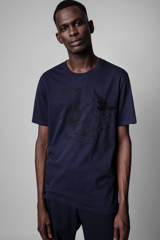 쟈딕앤볼테르 Zadig & Voltaire Ted Skull Art Is Hope T-Shirt