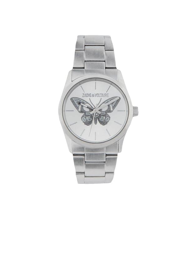 Steel Butterfly Watch 33 ZV030