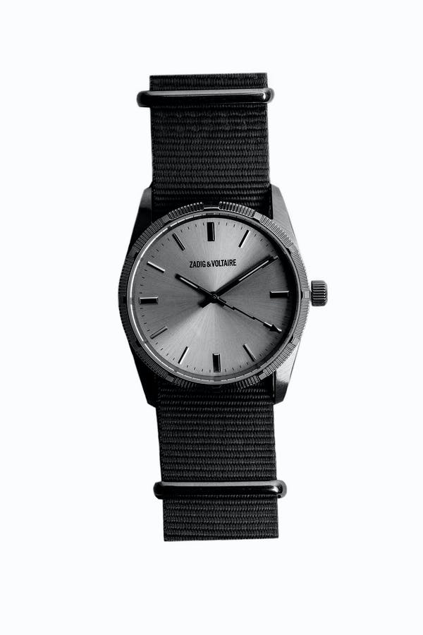 Nato Black 36 Watch