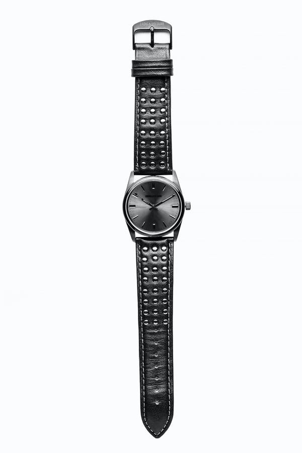 Full Black Studs Watch