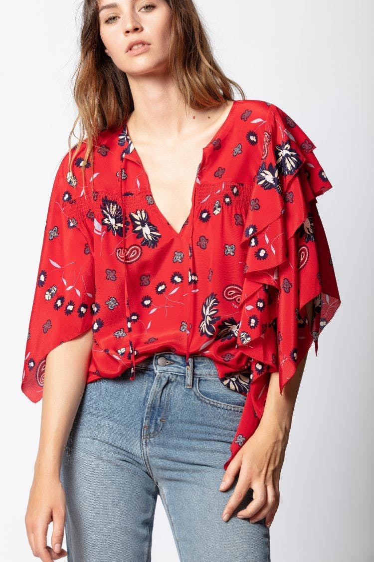 Tap Daisy Blouse