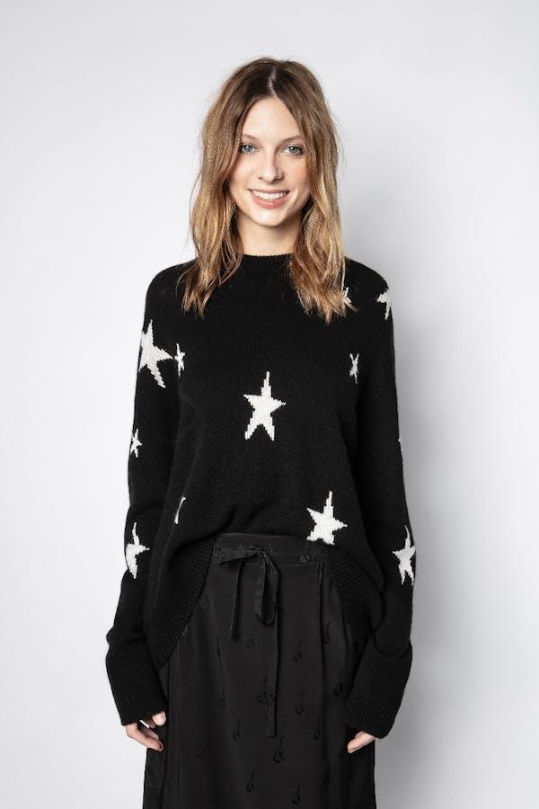 Markus Cashmere Star Sweater