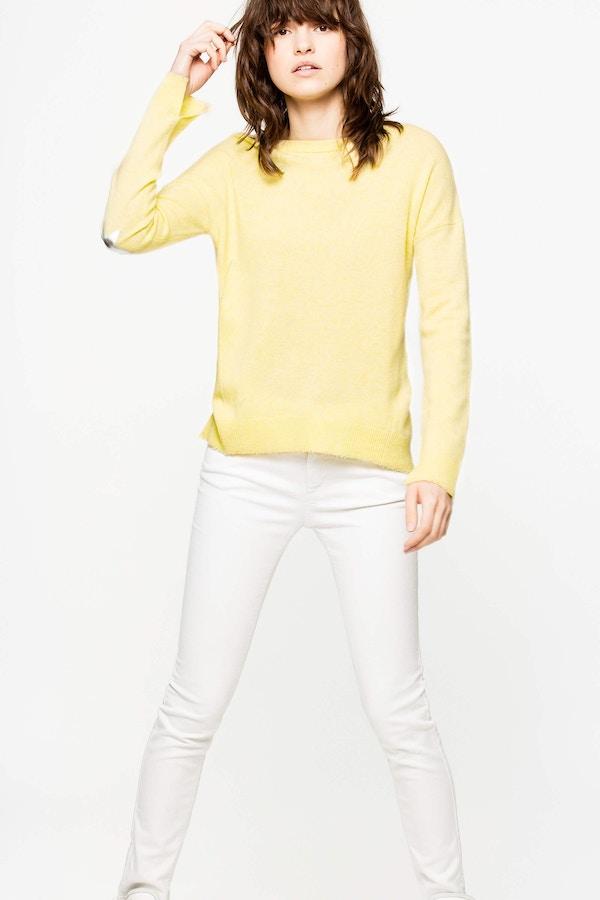 Cici Patch Cachemire Sweater