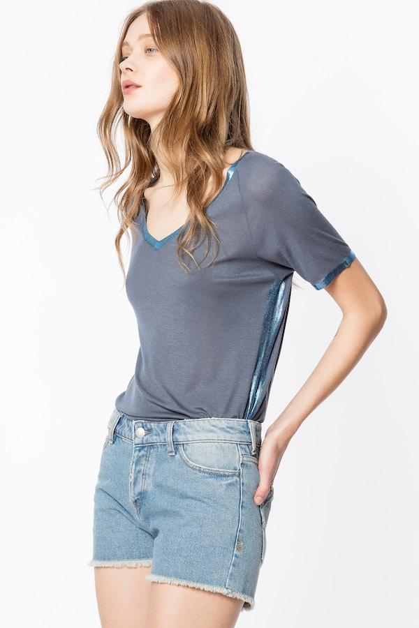 Margot Foil T-Shirt