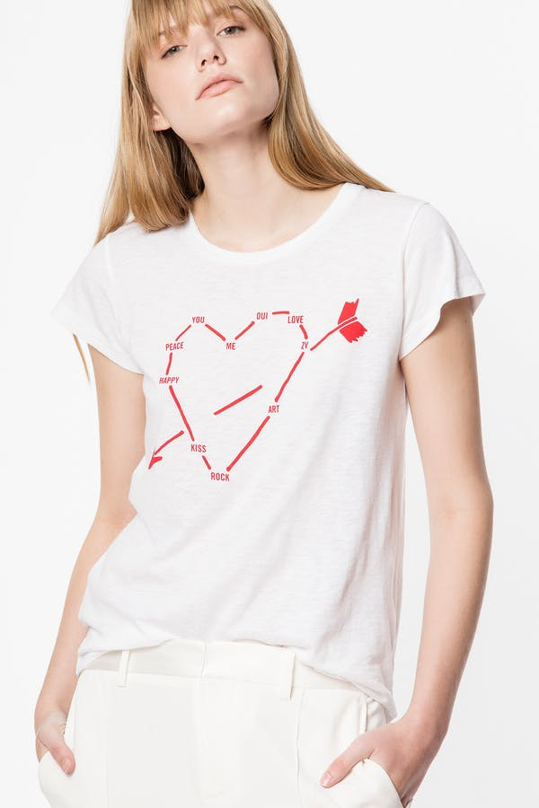 Skinny Heart Constellation T-shirt