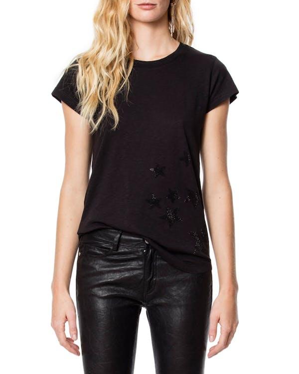Skinny Strass Star T-shirt