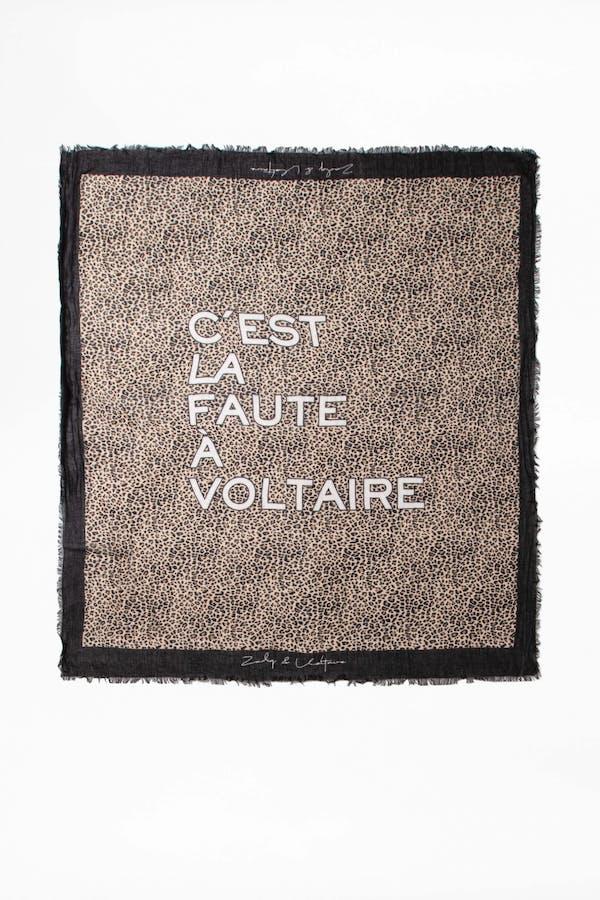 Delta C'est La Faute A Voltaire Scarf