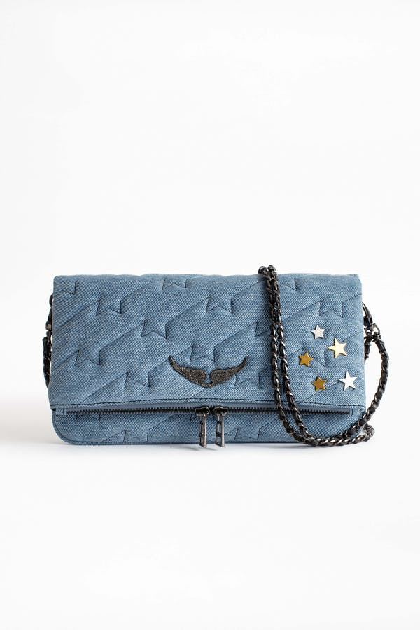 Rock ZV Quilted Jeans Bag
