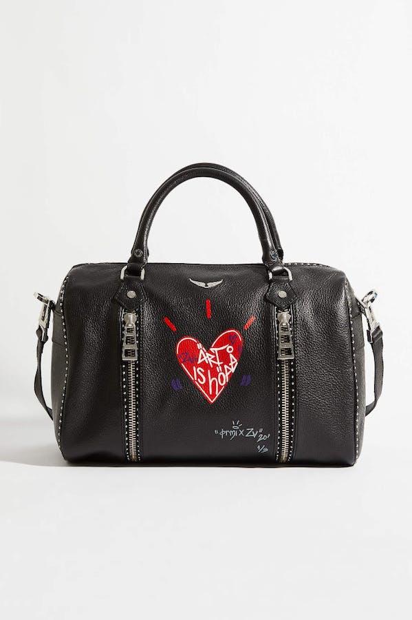Jormi x ART IS HOPE Sunny Medium Studs Bag