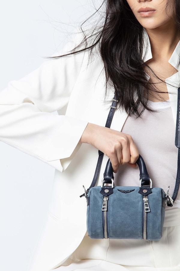 Sunny Nano Suede Bag