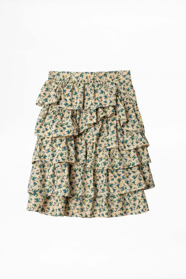 Joker Print Skirt