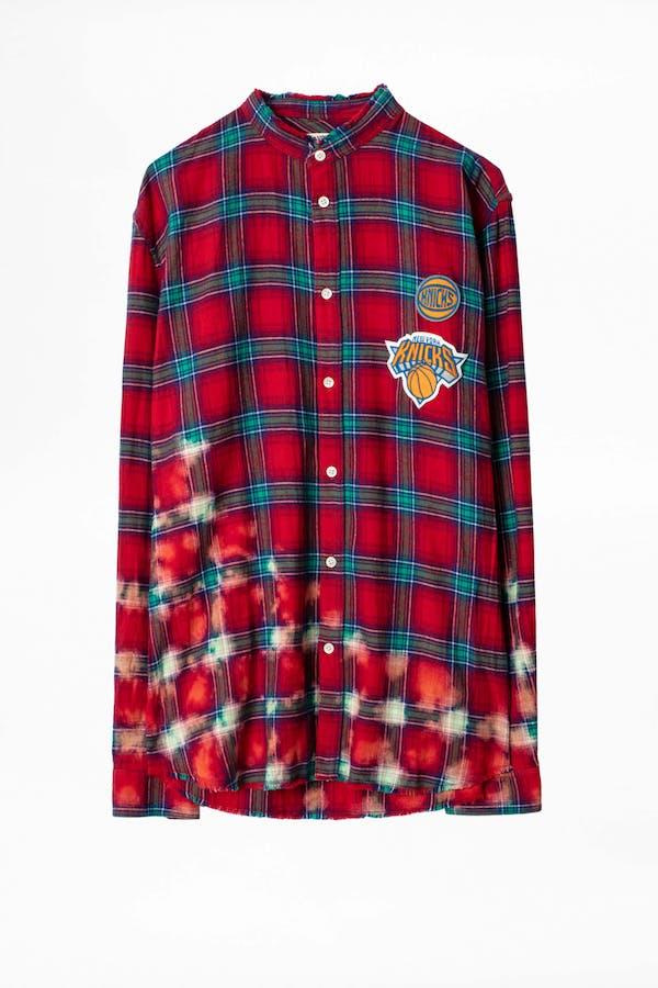 Torrol Knicks NBA Check Shirt