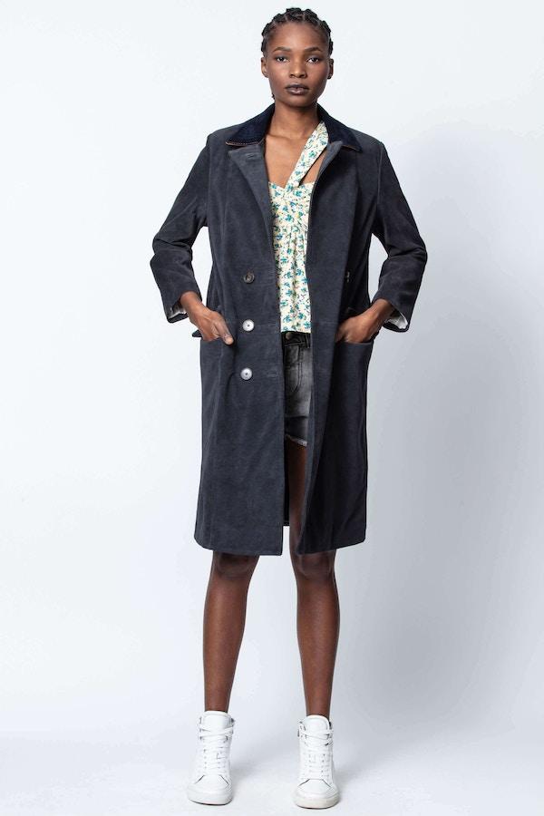 Moss Daim Coat