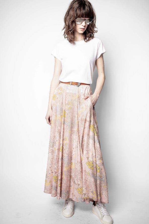 Joyo Print Glam Rock Skirt