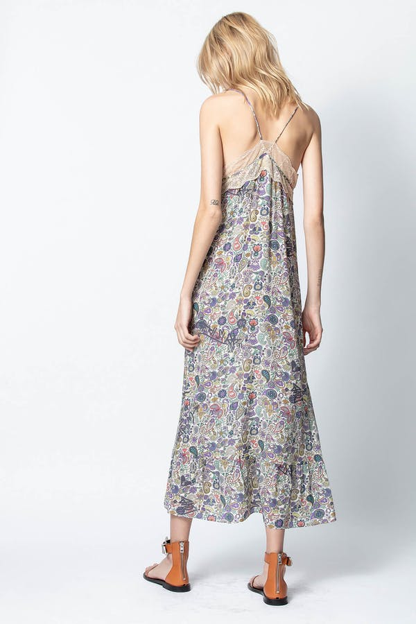 Revel Print Mandala Dress