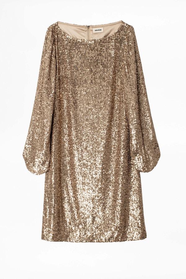 Rim Sequins Dress