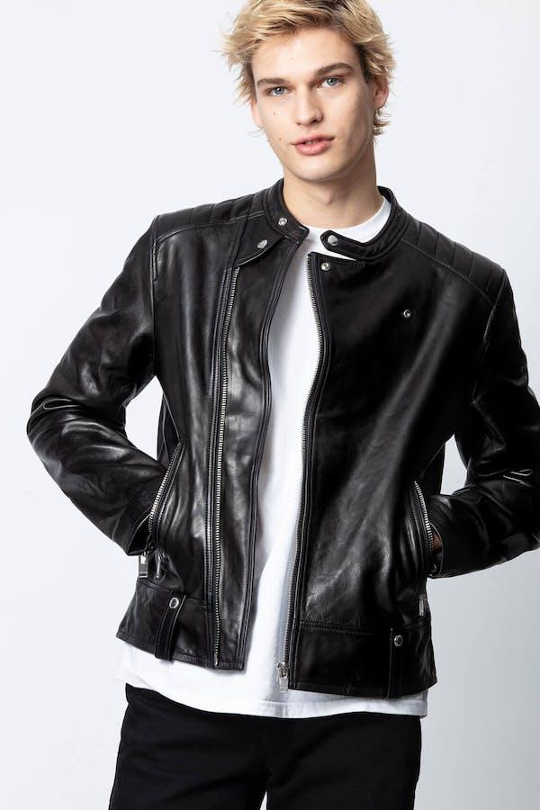 Lorisio Biker Leather Jacket