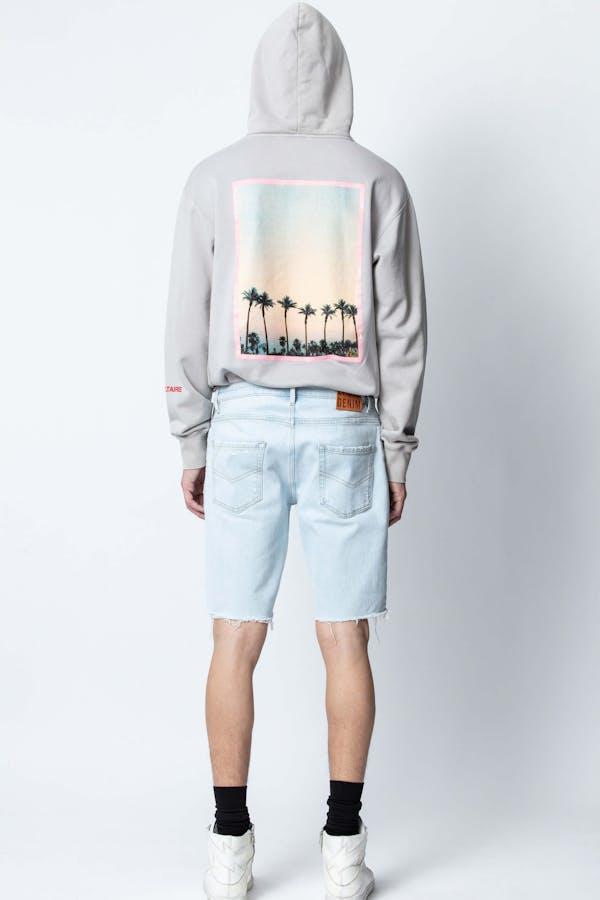 Sanchi Peace Photoprint Sweatshirt