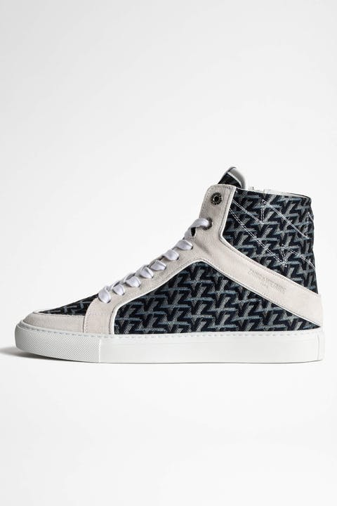 High Flash Monogram Sneakers
