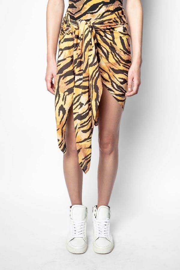 Tiger Print Sarong