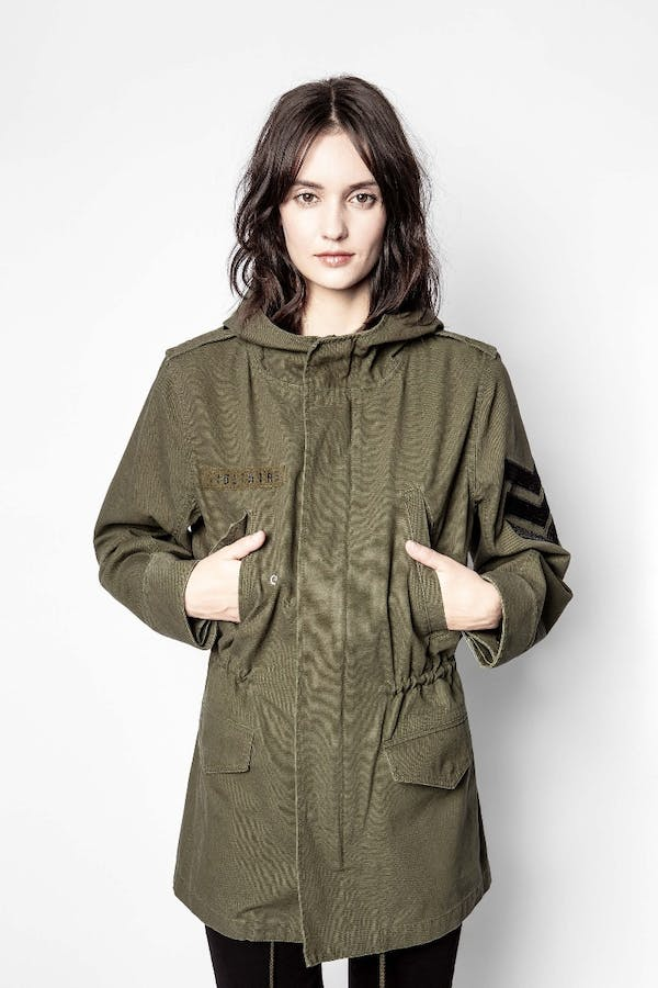 Kinian Canvas Parka