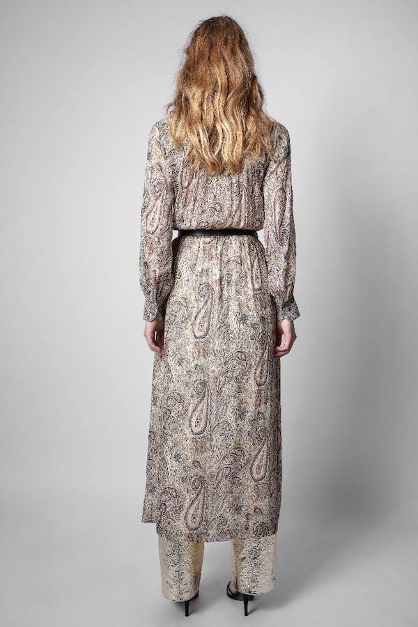 Reeva Peacock Dress