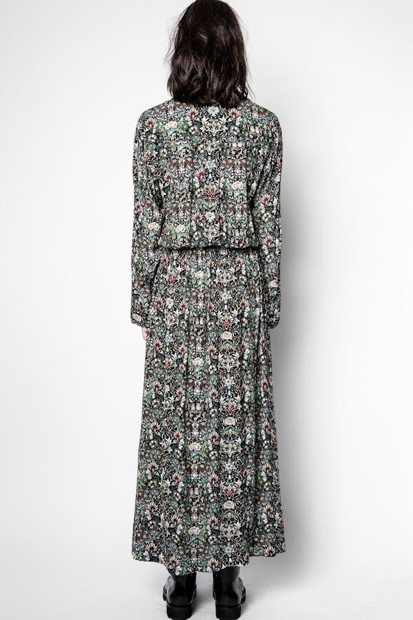 Radial Kaleido Dress