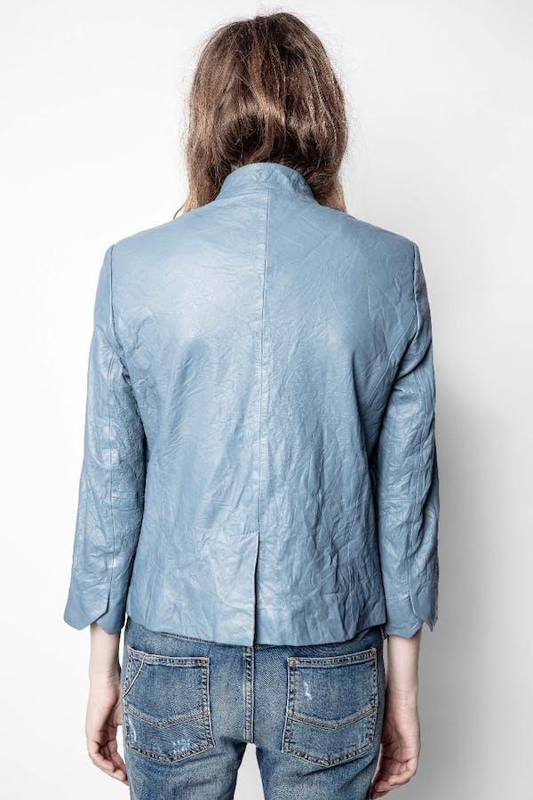 Verys Cuir Froissé Jacket