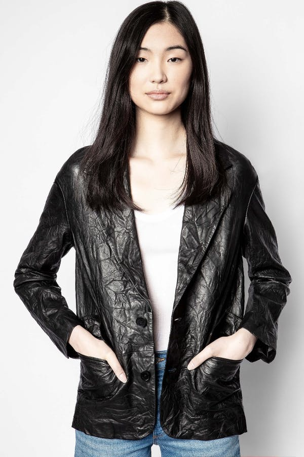 Van Cuir Crinkle Jacket