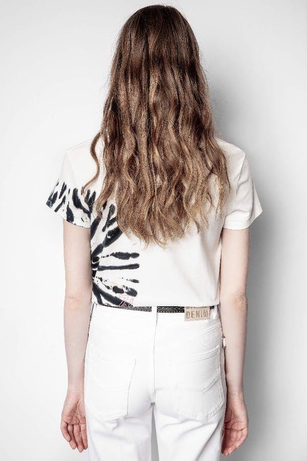 Zoe Tie Dye Cotton T-Shirt